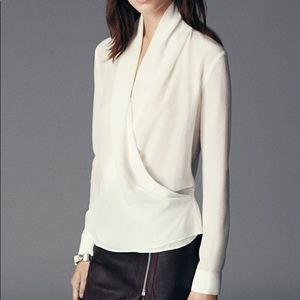 Silk All Saints blouse